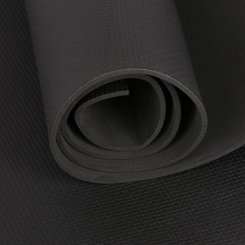 Pilates Yoga Mat EVA Thick Dampproof Anti-Tear Non-Slip Foldable Fitness Pad 4mm