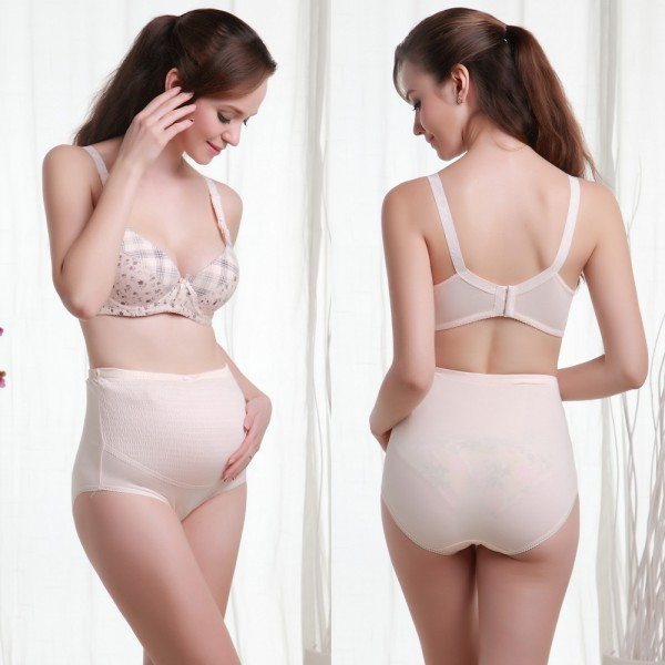 Pregnant Women Knicker Maternity Underwear Tummy Over Bump Support Panties UK 3