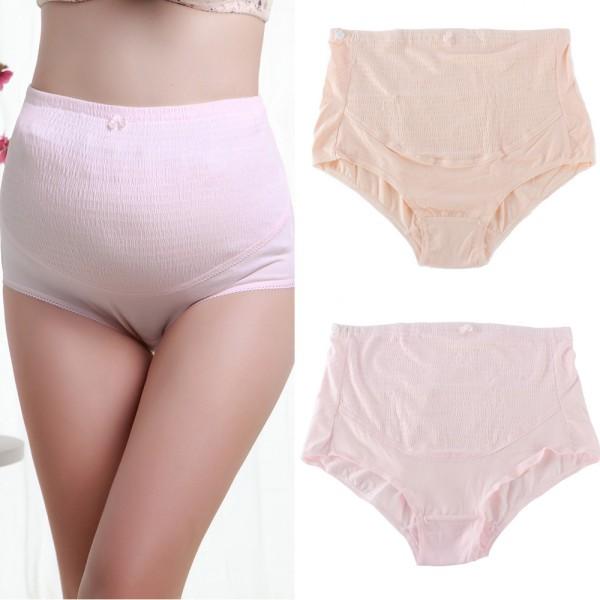 Pregnant Women Knicker Maternity Underwear Tummy Over Bump Support Panties UK 2