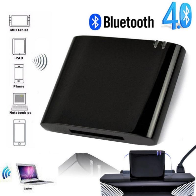 For iPod iPhone 30Pin Dock A2DP Audio Adapter Wireless Bluet